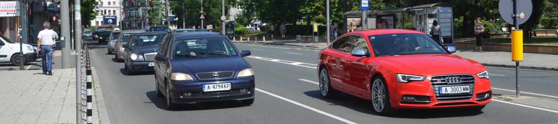 внесены изменения в правила дорожного движения (ПДД) Болгарии