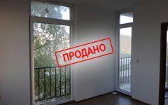 Продан! Двухкомнатный апартамент в комплексе, Солнечный берег, 15900 евро