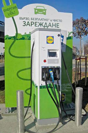Электромобили в Болгарии